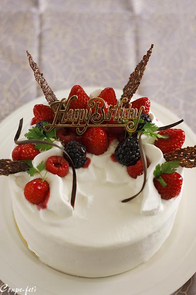 リョーコの誕生日ケェキ_f0149855_0335297.jpg