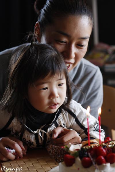 リョーコの誕生日ケェキ_f0149855_0344868.jpg