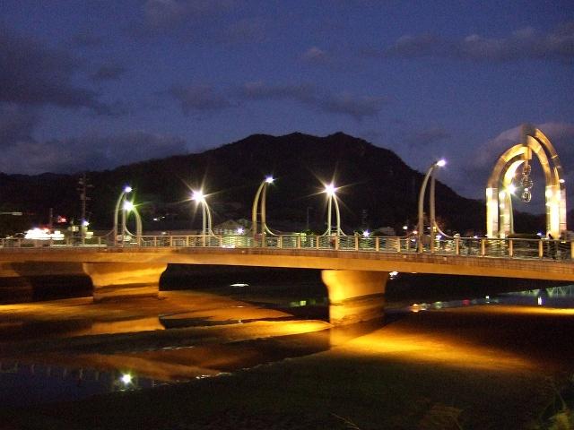 ひまわり大橋の美しき夜の光景①_b0095061_1248054.jpg