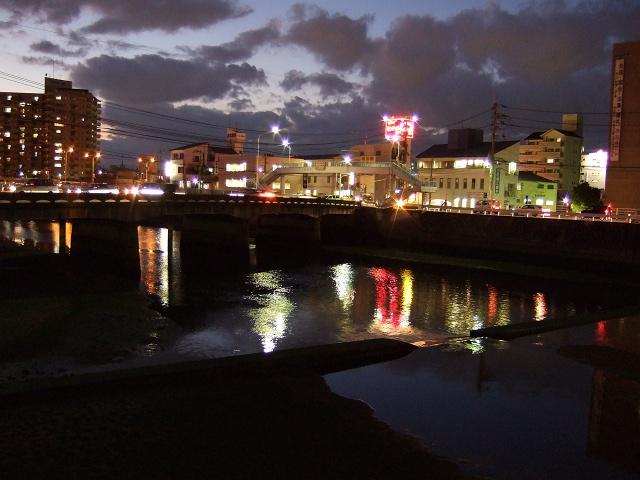 ひまわり大橋の美しき夜の光景①_b0095061_12482279.jpg