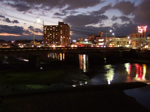 ひまわり大橋の美しき夜の光景①_b0095061_12484797.jpg