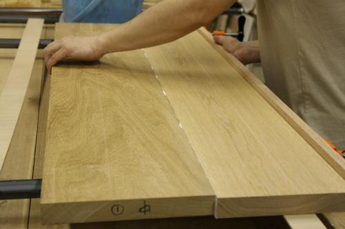 家具製作日誌01      丸テーブル編 (天板の できるまで)_e0155066_21445970.jpg