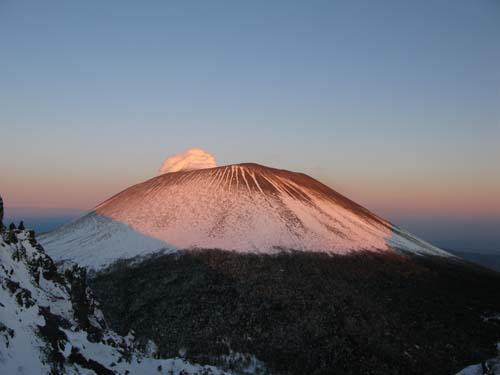冬の浅間山の美しさ_e0120896_852560.jpg