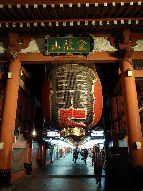 夜の浅草2 浅草寺_c0177814_1032728.jpg