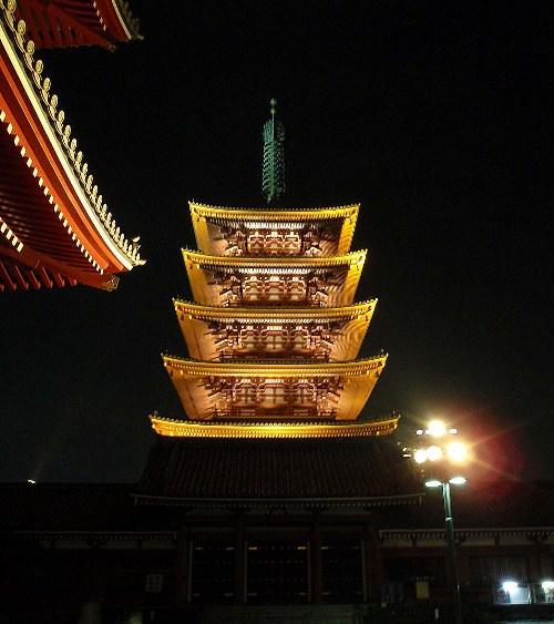 夜の浅草2 浅草寺_c0177814_10353578.jpg
