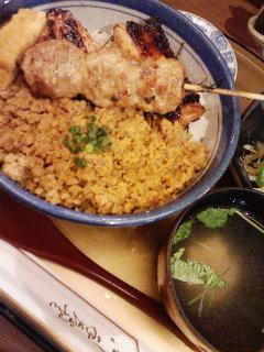 浅草 地鳥料理 鶏よしのミックス焼き_f0112873_2258242.jpg