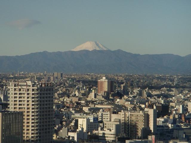 東京から見た富士_d0116009_1522231.jpg