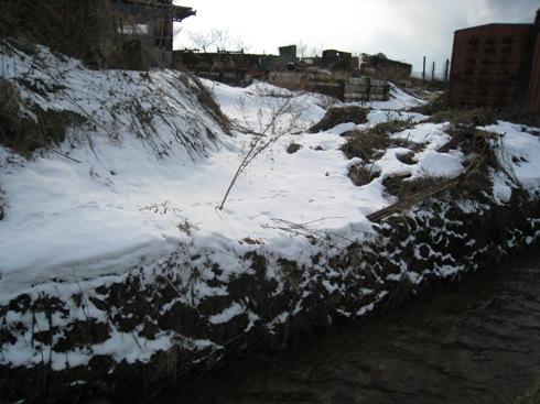 笹谷大堰の旧取水口を求めて_a0087378_19328100.jpg
