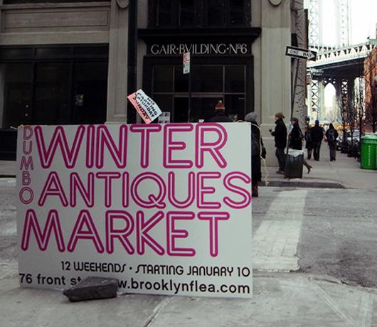 ブルックリンの室内型フリマ Winter Antiques Pop-Up Market_b0007805_9122212.jpg
