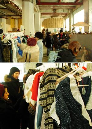 ブルックリンの室内型フリマ Winter Antiques Pop-Up Market_b0007805_9131258.jpg