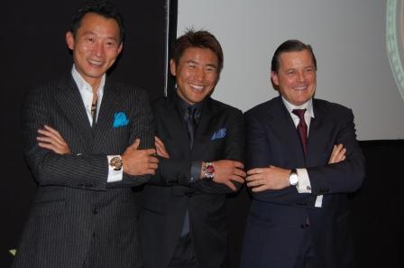 世界最速スクープ オーデマ・ピゲ K1魔裟斗モデル発表_f0039351_1547691.jpg