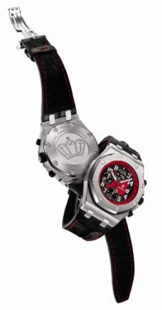 世界最速スクープ オーデマ・ピゲ K1魔裟斗モデル発表_f0039351_1548364.jpg