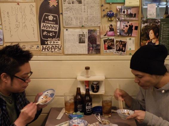 サバ缶 巨頭会談@鳥へい_f0053279_22205115.jpg