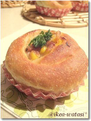 今日はパンの日☆ ふんわりじゃがいものパン生地_c0180949_2028616.jpg