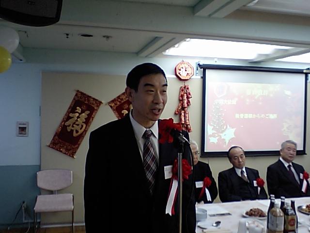 中国大使館教育処書記官程先生の挨拶_d0027795_20124610.jpg