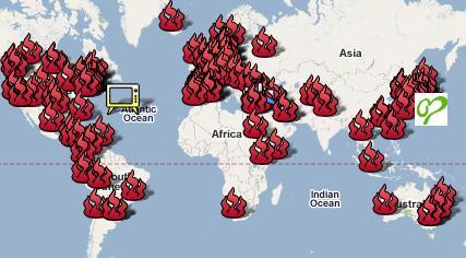 ガザへのアクションで世界地図_e0149596_342431.jpg