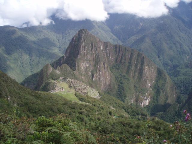 ペルー神秘の旅⑧ <マチュピチュ山>_f0095325_263663.jpg