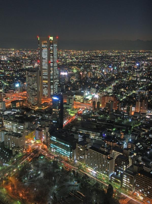 都庁から見た夜景_f0018464_1234557.jpg