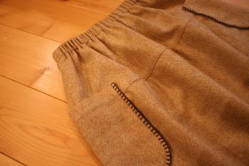 からし色のスカート_a0102486_19374990.jpg