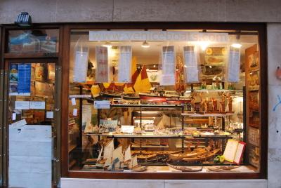 ヴェネツィア、ゴンドラの模型工房を探して。_d0129786_0145799.jpg