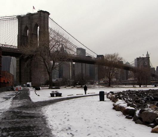 冬のブルックリン・ブリッジ・パークをお散歩_b0007805_13385655.jpg