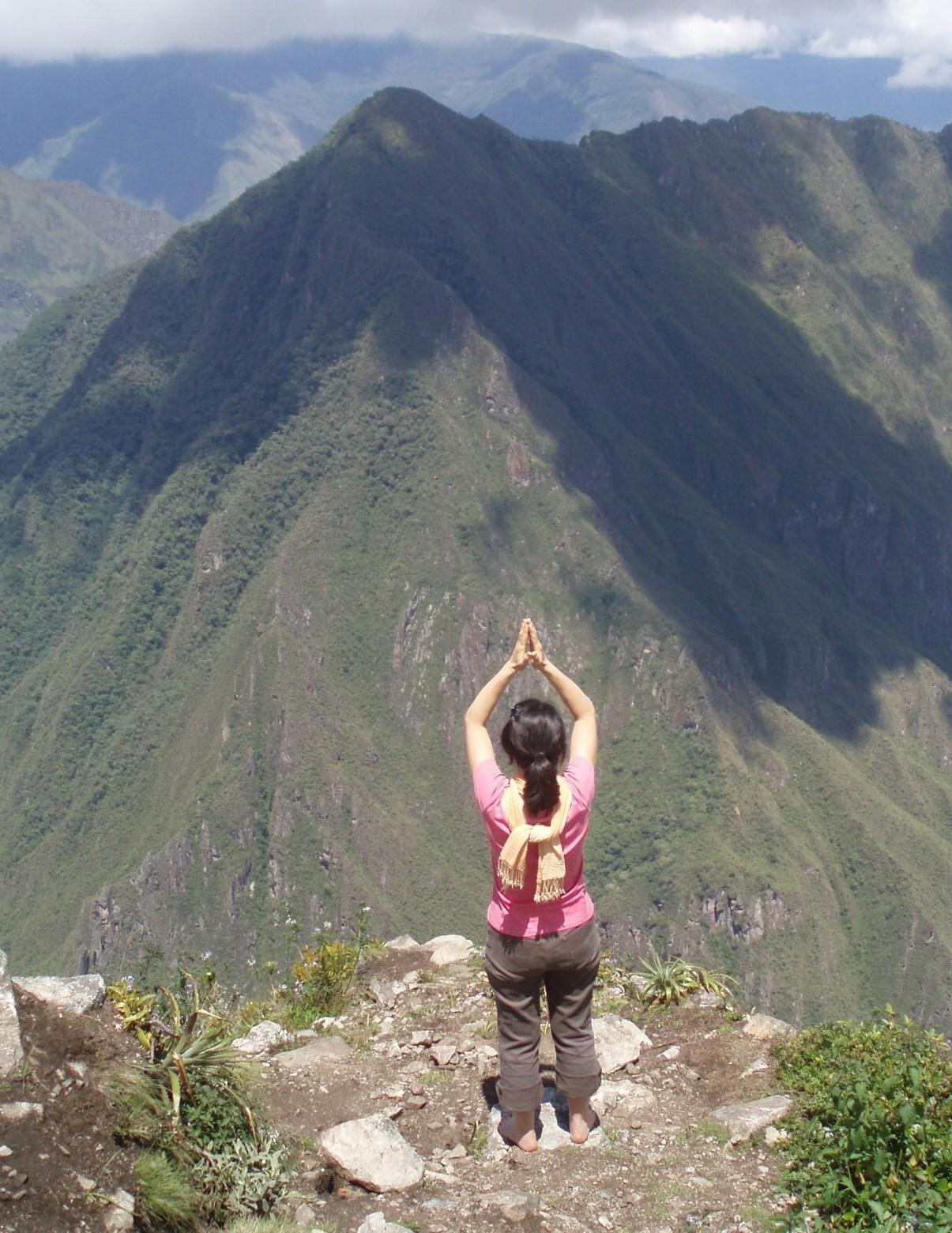 ペルー神秘の旅⑧ <マチュピチュ山>_f0095325_1332182.jpg