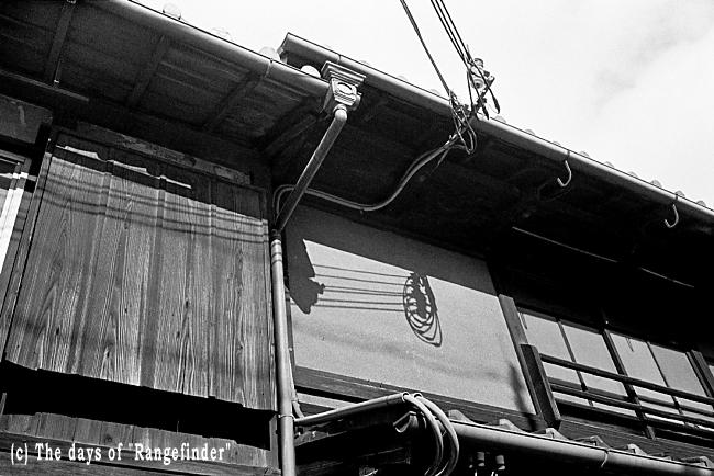 Jan.  24  (Sat)   軒下 ~京都11       _f0139991_22222625.jpg