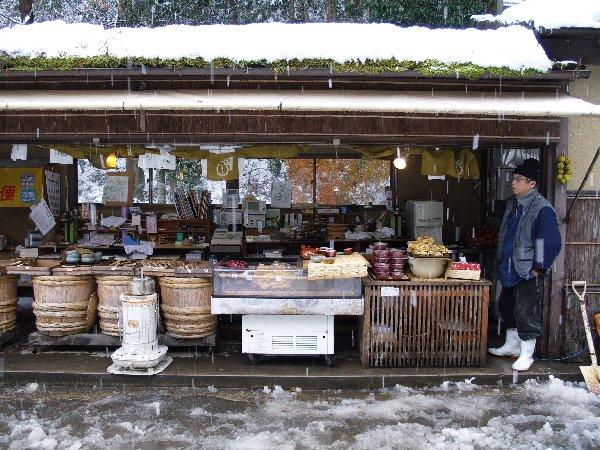 京都大原雪景色(5)_e0129750_1102420.jpg