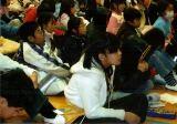大寒の日に、上一色小学校の皆さんの暖かさに感激!_e0088256_22503254.jpg