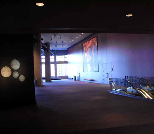 ジャズ・アット・リンカーンセンターのアートスペースは穴場の展望台_b0007805_10157100.jpg