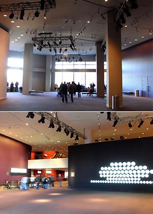 ジャズ・アット・リンカーンセンターのアートスペースは穴場の展望台_b0007805_1021076.jpg