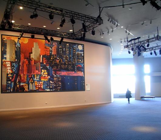 ジャズ・アット・リンカーンセンターのアートスペースは穴場の展望台_b0007805_10214883.jpg