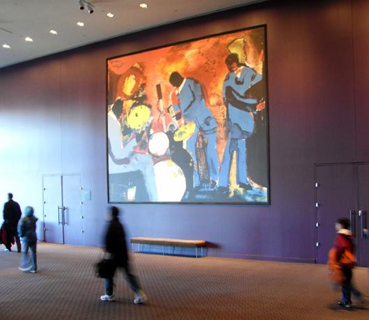 ジャズ・アット・リンカーンセンターのアートスペースは穴場の展望台_b0007805_1022387.jpg