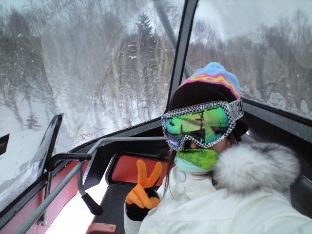 1月26日  札幌国際スキー場 ☆ 天気良い_c0151965_21383215.jpg