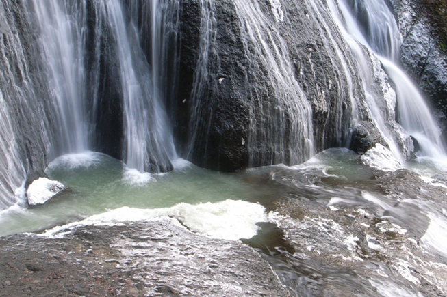 凍った滝①@袋田の滝。_c0141989_22371119.jpg