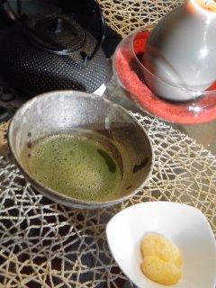 柚子ぼーろと・・・ごまらあ油の中華風スープ。_f0177295_9482997.jpg