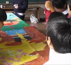 ジャカルタ日本人学校のアートマイル1_c0052304_88563.jpg