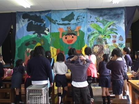 ジャカルタ日本人学校のアートマイル1_c0052304_885715.jpg