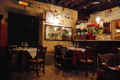 ヴェネツィアのレストラン。「Vecio Fritolin」_d0129786_1423653.jpg