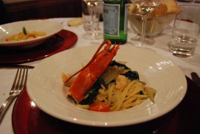 ヴェネツィアのレストラン。「Vecio Fritolin」_d0129786_14495679.jpg