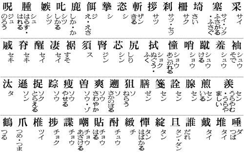 【9030】  日常生活の常用漢字は2131字に決定_e0083820_21164057.jpg