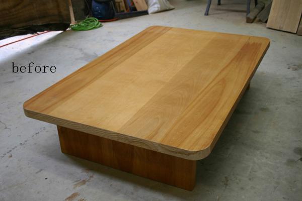 テーブルのリフォーム_f0171785_17411123.jpg