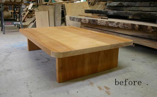 テーブルのリフォーム_f0171785_17412052.jpg
