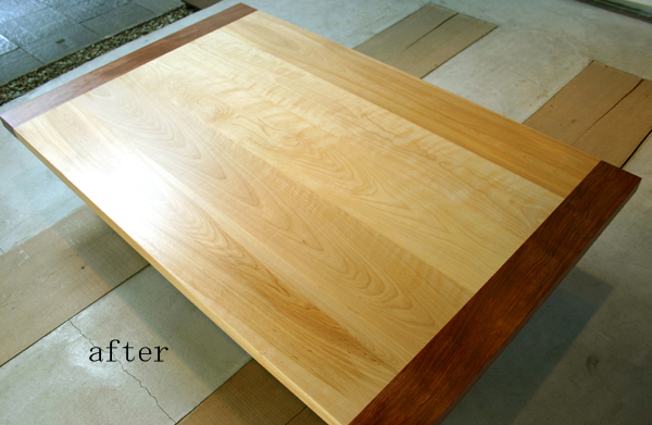 テーブルのリフォーム_f0171785_17484824.jpg