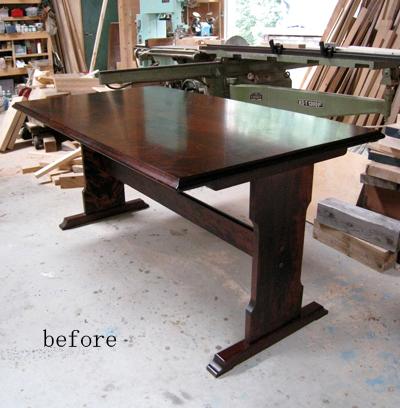 テーブルのリフォーム_f0171785_17551570.jpg