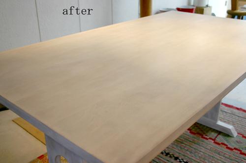 テーブルのリフォーム_f0171785_181276.jpg