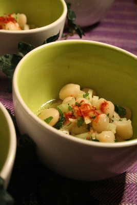 豆とセロリのサラダ_f0141419_785233.jpg