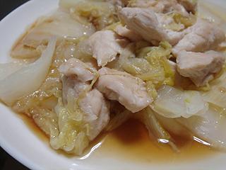 鶏ささみと白菜の重ね蒸し_c0025217_22412475.jpg