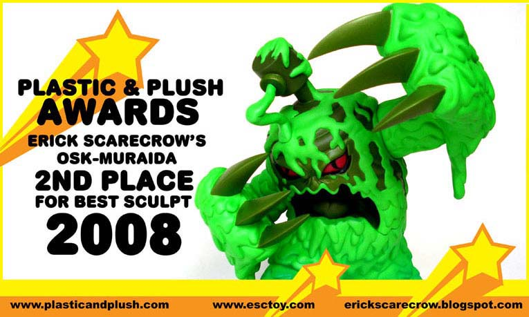 Plastic & Plush AWARDS、彫刻の部、2等賞。_a0077842_20513739.jpg