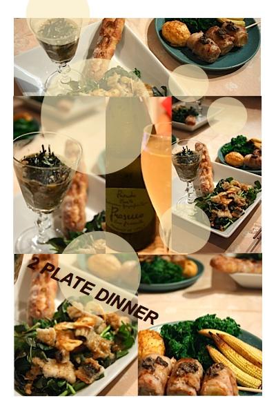 2 PLATE DINNER_c0156468_20554554.jpg
